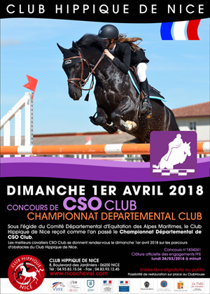 CSO CHAMPIONNAT DEPARTEMENTAL CLUB