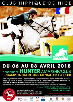 HUNTER CHAMPIONNAT DEPARTEMENTAL