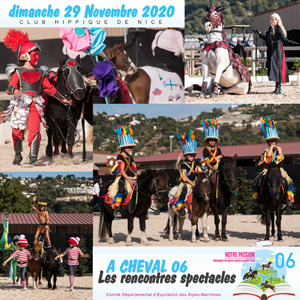 les rrencontres A CHEVAL 06