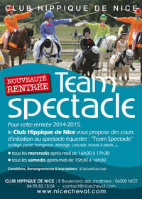 cours TEAM SPECTACLE