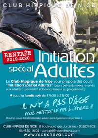 INITIATION ADULTES